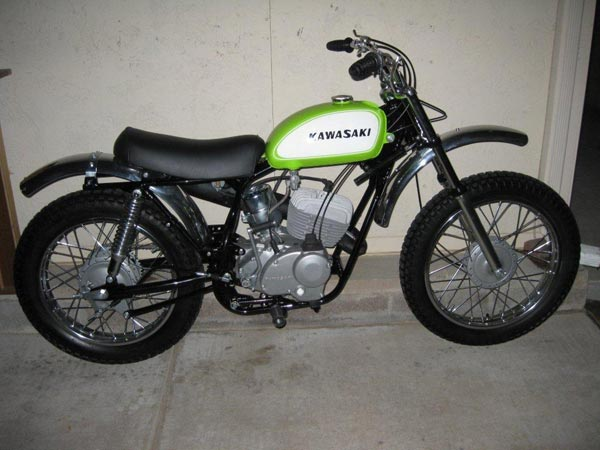 1969 kawasaki 238 greenstreak - ams racing