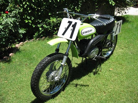 1971 kawasaki 100 centurian baby greenstreak g31m - ams racing