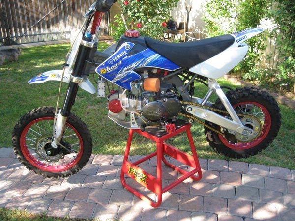 Pit Bike Sdg 125cc White Ams Racing