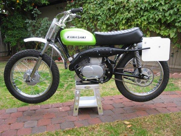1970 Kawasaki 100cc Centurian - AMS Racing