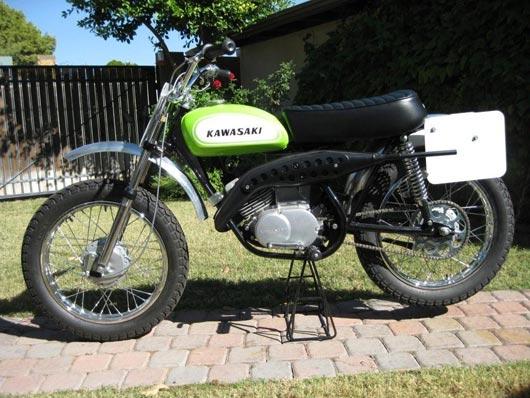 Kawasaki Greenstreak Dirtbike