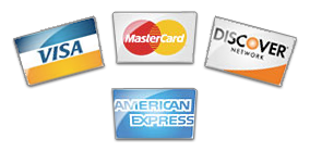 AMS Racing accepts Visa, MasterCard, Discover, and American Express