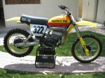Mark Barnett RM 250 moto x fox bike 001