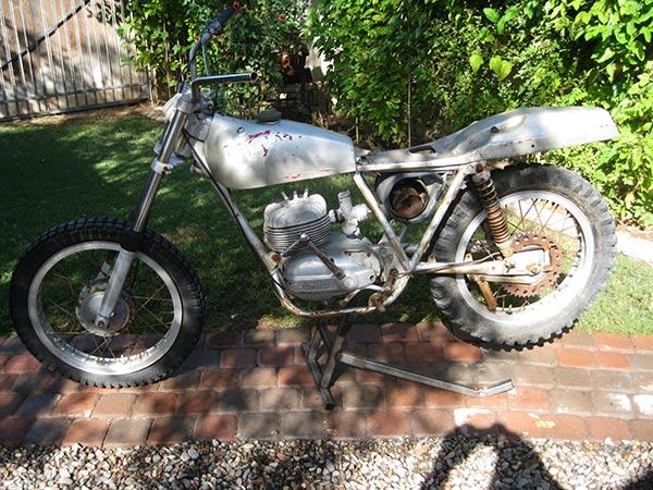 1968 Bultaco Pursang Model #68 MKIV