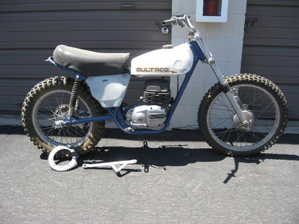 1974 Bultaco 250 Pursang Project