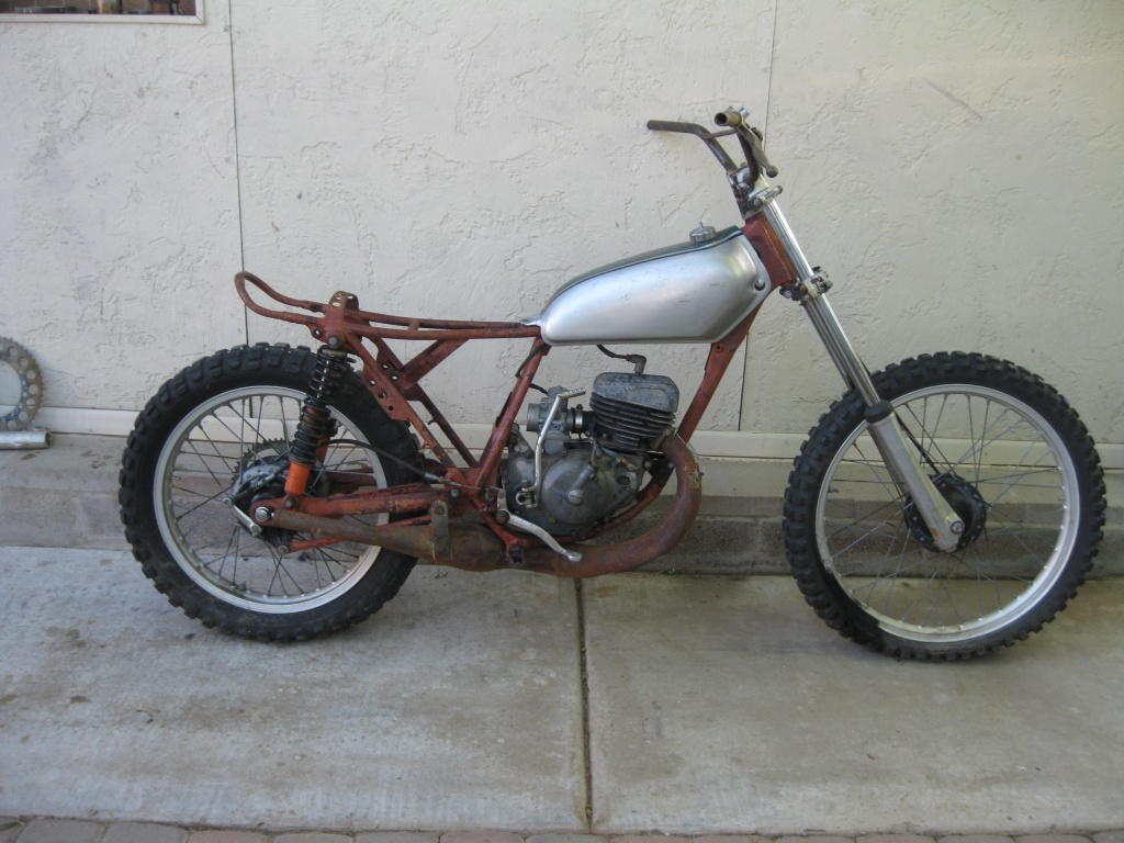 1974 honda cr 125 elsinore project ams racing. Black Bedroom Furniture Sets. Home Design Ideas