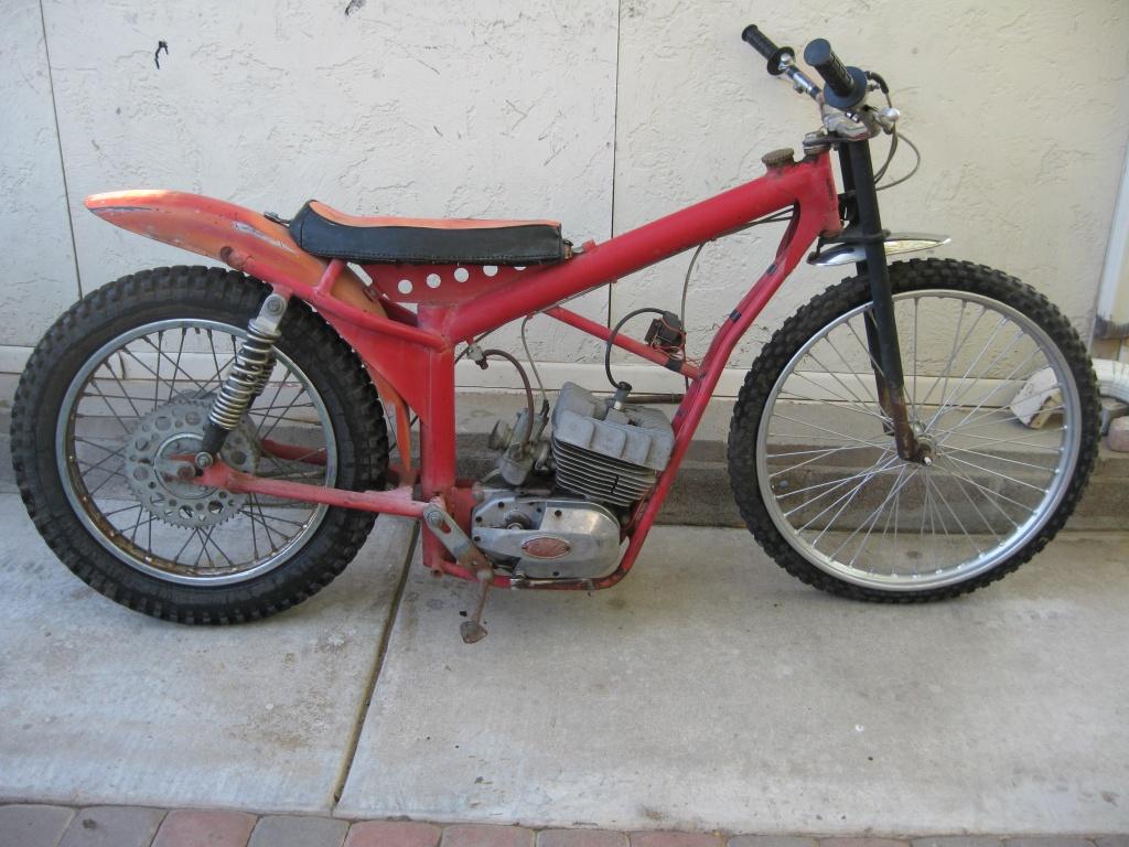 Speedway Motorcycle Racing Bikes: 1971 Carabela Speedway Bike